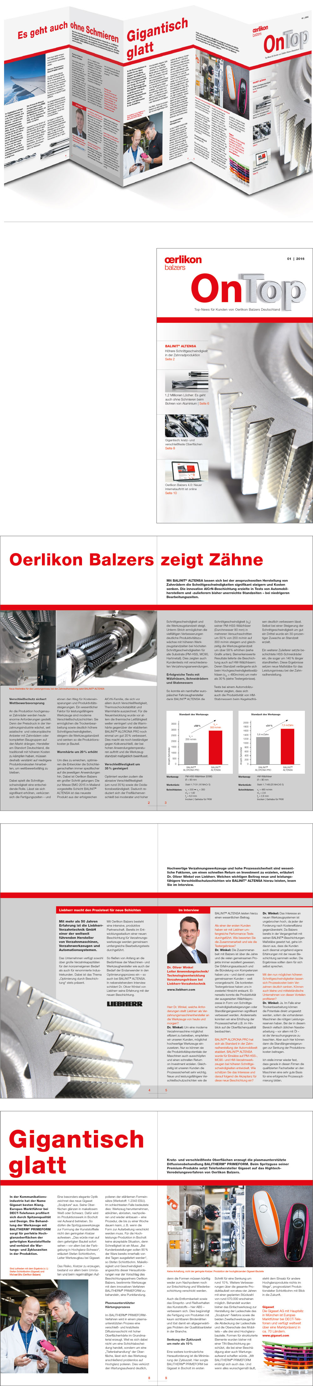 oerlikon balzers Newsletter onTop