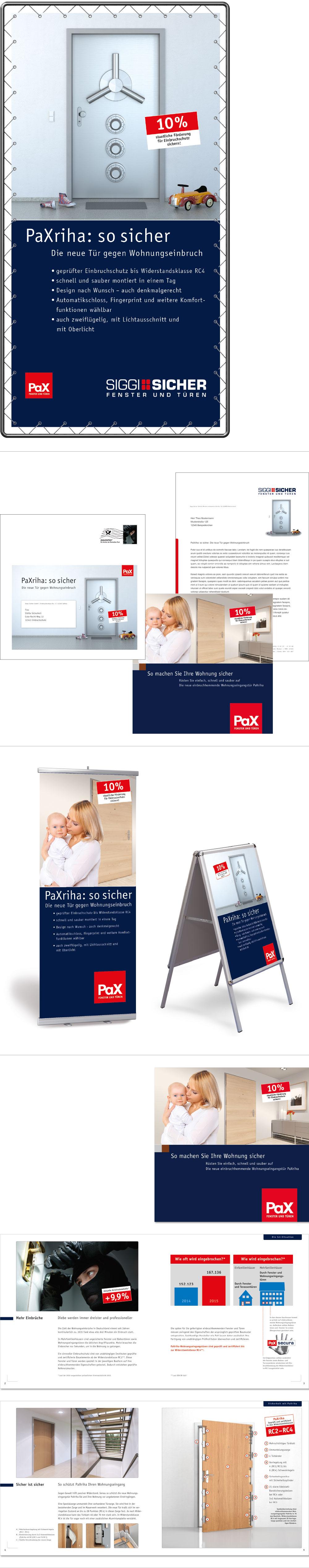 PaXriha Produkteinführung