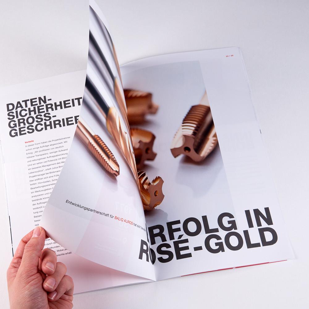 Projekt Kundenmagazin oerlikon